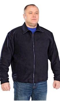 Куртка флис темно-синяя - фото 12895