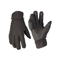 Перчатки утепленные Softshell Thinsulate Black - фото 14577