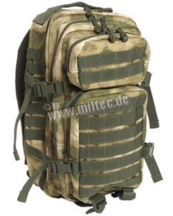 Рюкзак US Assault Pack Small A-TACS FG - фото 6396