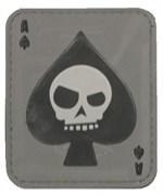 Шеврон на липучке Death Ace PVC