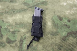 Подсумок FAST для пистолетного магазина ПЯ, АПС, Глок-17 molle черный