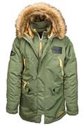 Куртка N-3B Inclement Parka Sage Green Alpha