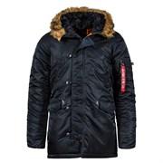 Куртка N-3B Parka Slim Fit Black Alpha
