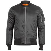 Куртка летная Basic Bomber Surplus Black
