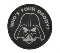 Шеврон на липучке Darth Vader PVC