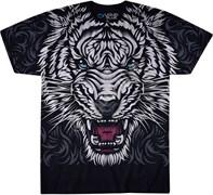 Футболка Liquid Blue White Tiger Stare 31123
