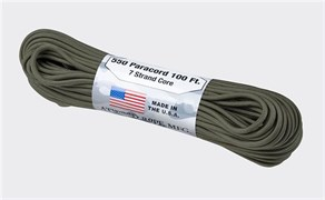 Шнур Paracord USA 550lb 100 ft olive
