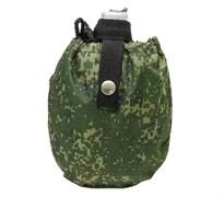 Фляга армейская с чехлом цифра РФ