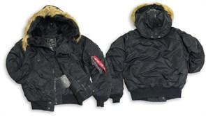 Куртка N-2B Flight Jacket Alpha Black