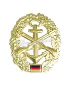 Эмблема на берет Bundeswehr Marinesicherung
