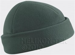 Шапка флис Helikon Foliage Green