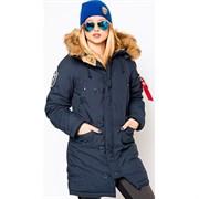 Куртка аляска женская Altitude W Parka Alpha Replica Blue