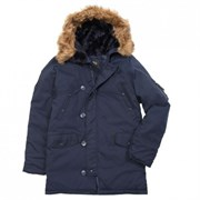 Куртка аляска N3B Oxford Replica Blue/Replica Blue