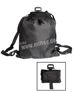 Рюкзак ROLL-UP черный - фото 11085