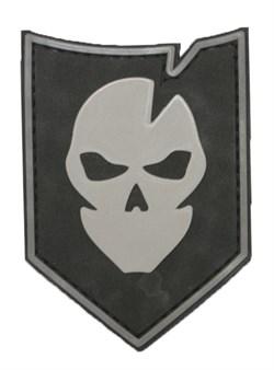 Шеврон на липучке Ghost PVC - фото 11395