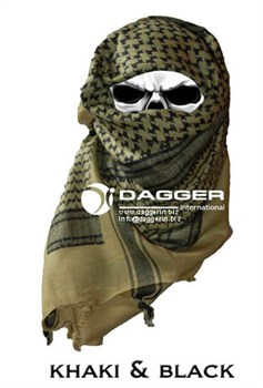 Арафатка Tactical Shemagh Khaki/Black - фото 12499