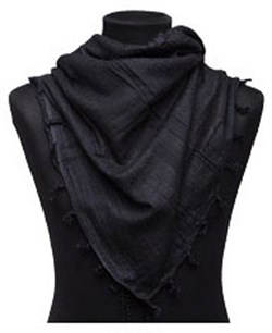 Арафатка Tactical Shemagh Solid Black - фото 12501