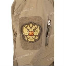 Шеврон на липучке Герб России - фото 12586