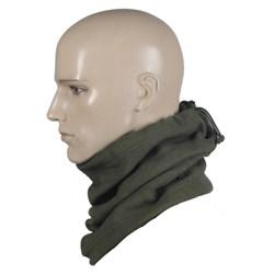 Шарф-труба scarf fleece олива - фото 12878