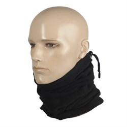 Шарф-труба scarf fleece черный - фото 12882