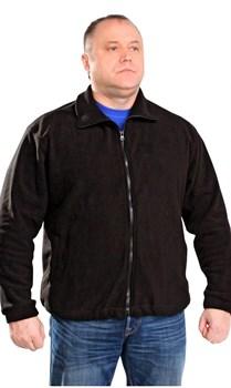 Куртка флис черная - фото 12897