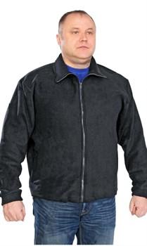Куртка флис серая - фото 12899