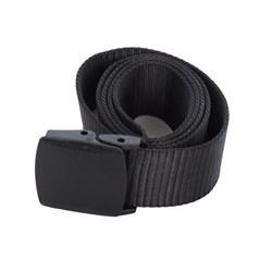 Ремень брючный с пластиковой пряжкой black - фото 12991