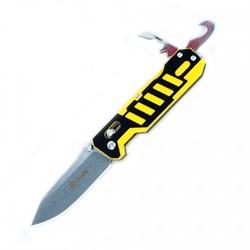 Нож складной туристический Ganzo G735-YB - фото 13131