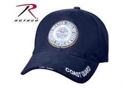 Кепка бейсболка Deluxe US Coast Guard - фото 13369