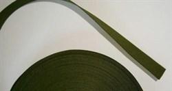 Стропа 25мм олива метр погонный - фото 13408