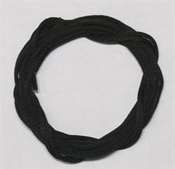 Шнурки черные 180 см - фото 13547