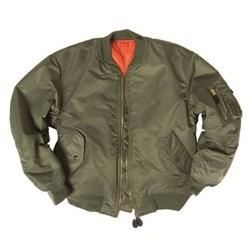 Куртка бомбер MA-1 олива - фото 14151