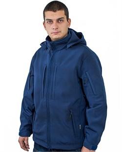 Куртка soft shell Mistral синяя - фото 14160