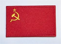 Шeврон на липучке флаг СССР - фото 14247