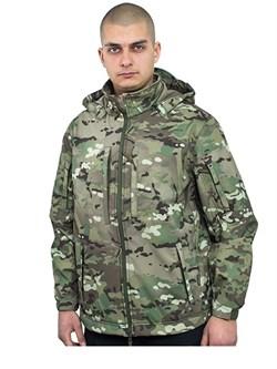 Куртка soft shell Mistral мультикам - фото 14290