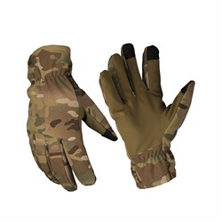 Перчатки утепленные Softshell Thinsulate multicam - фото 14500