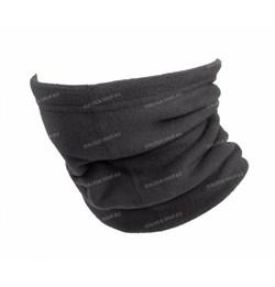 Утеплитель для шеи флисовый серый - фото 14586