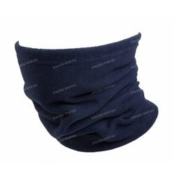 Утеплитель для шеи флисовый синий - фото 14590