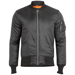 Куртка летная Basic Bomber Surplus Black - фото 14776