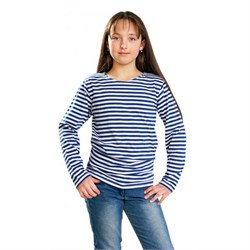 Тельняшка детская ГОСТ синяя полоса - фото 15217