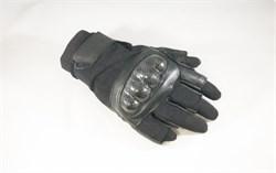 Перчатки Tac-Force без пальцев Black - фото 15223