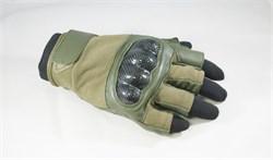 Перчатки Tac-Force без пальцев olive - фото 15225