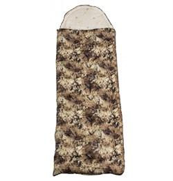 Спальный мешок Аляска Стандарт с подголовником до -10 Криптек - фото 15648