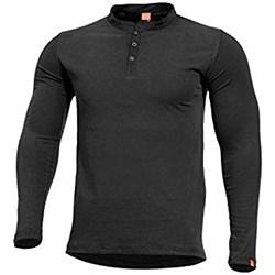 Рубашка Romeo Henley Pentagon Black - фото 15765