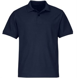 Рубашка поло темно-синяя - фото 15904