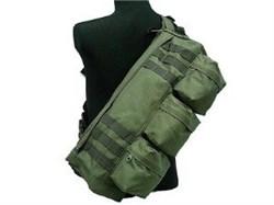 Сумка наплечная Tactical Go Pack олива - фото 16042