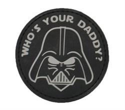 Шеврон на липучке Darth Vader PVC - фото 16259