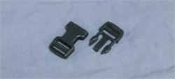 Фастекс Duraflex 25mm Dual Adjust Mojave Side Squeeze Buckle черный - фото 16342