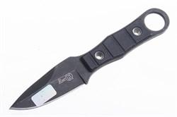 Нож туристический Ёж черный - фото 16828
