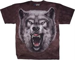 Футболка Liquid Blue Roaring Wolf 11440 - фото 16879